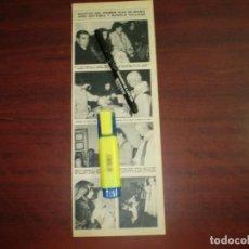 Coleccionismo de Revista Hola: BAUTIZO PRIMER HIJO MARIA JOSE GOLLANES Y MANOLO COLLADO - RECORTE- HOLA AÑO 1975- VER DETALLES. Lote 168345844
