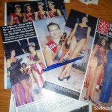 Collectionnisme de Magazine Hola: RECORTE : EVA PEDRAZA, ELEGIDA MISS ESPAÑA 1988. HOLA, OCTBRE 1988 (). Lote 168546712
