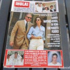 Coleccionismo de Revista Hola: ¡ HOLA ! Nº 2625 --22 SEPTIEMBRE 1994. Lote 168662112