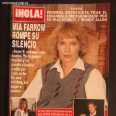 Coleccionismo de Revista Hola: ¡HOLA! N°2516 (OCTUBRE, 1992). MIS FARROW ROMPE SU SILENCIO, ANA OBREGÓN Y CONDE LEQUIO. Lote 168759933