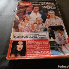 Coleccionismo de Revista Hola: REVISTA EN BUEN ESTADO HOLA 2414 15 NOV 1990 PESA 550 GRAMOS. Lote 168854732