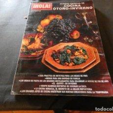 Coleccionismo de Revista Hola: REVISTA EN BUEN ESTADO HOLA NUMERO EXTRAORDINARIO COCINA OTOÑO INVIERNO 1996 PESA 550 GRAMOS. Lote 168854860