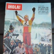 Coleccionismo de Revista Hola: REVISTA ¡HOLA! DE 26 DE FEBRERO DE 1972, NUM. 1.435. Lote 168861000