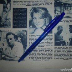Collezionismo di Rivista Hola: RECORTE : MISS FRANCIA 1964. HOLA, JULIO 1965 (). Lote 169041332
