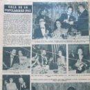 Coleccionismo de Revista Hola: RECORTE REVISTA HOLA Nº 1016 1964 SARA MONTIEL, MARUJITA DIAZ, NATI MISTRAL. POPULARIDAD 1963. Lote 169120824