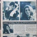 Coleccionismo de Revista Hola: RECORTE REVISTA HOLA Nº 1016 1964 PATRICIA PIERANGELI. Lote 169120872