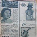 Coleccionismo de Revista Hola: RECORTE REVISTA HOLA Nº 978 1963 EL ESTRANGULADOR DE BOSTON. Lote 169121276