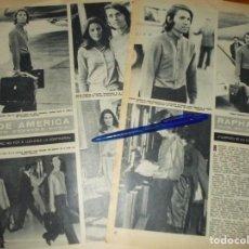 Coleccionismo de Revista Hola: RECORTE : RAPHAEL REGRESA DE AMERICA . HOLA, JUNIO 1972 (). Lote 169163044
