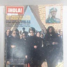 Collectionnisme de Magazine Hola: 21883 - REVISTA HOLA - Nº 1939 - EN PORTADA UN PRIMER PLANO DEL ASESINATO DEL PRESIDENTE SADAT . Lote 169383648