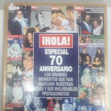 Coleccionismo de Revista Hola: 21919 - REVISTA HOLA - ESPECIAL 70 ANIVERSARIO . Lote 169388676