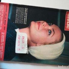 Coleccionismo de Revista Hola: REVISTA HOLA 1068 * 13 FEBRERO 1965 * ESTEFANIA DE MONACO + CHARLOT + ROCIO DURCAL * 68. Lote 169405880
