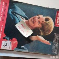 Coleccionismo de Revista Hola: REVISTA HOLA 1088 * 3 JULIO 1965 * BODA DE OLIMPIA DE TORLONIA + GRACIA DE MONACO + LIZ TAYLOR * 68. Lote 169406656