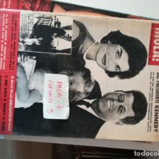 Coleccionismo de Revista Hola: REVISTA HOLA 1005 * 30 NOVIEMBRE 1963 * KENNEDY + CARMEN AMAYA + CHARLOT + JACQUELINE * 68. Lote 169407404