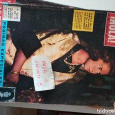Coleccionismo de Revista Hola: REVISTA HOLA 1006 * 6 DICIEMBRE 1963 * JACQUELINE + LYNDON JOHNSON + KENNEDY + CAROLINA * 68. Lote 169407832