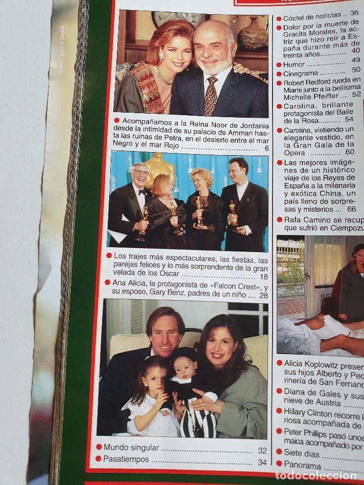 Coleccionismo de Revista Hola: HOLA. 13 ABRIL 1995. NUM. 2644. CAROLINA DE MONACO, RAFI CAMINO, VER SUMARIO EN FOTOS - Foto 2 - 169429512