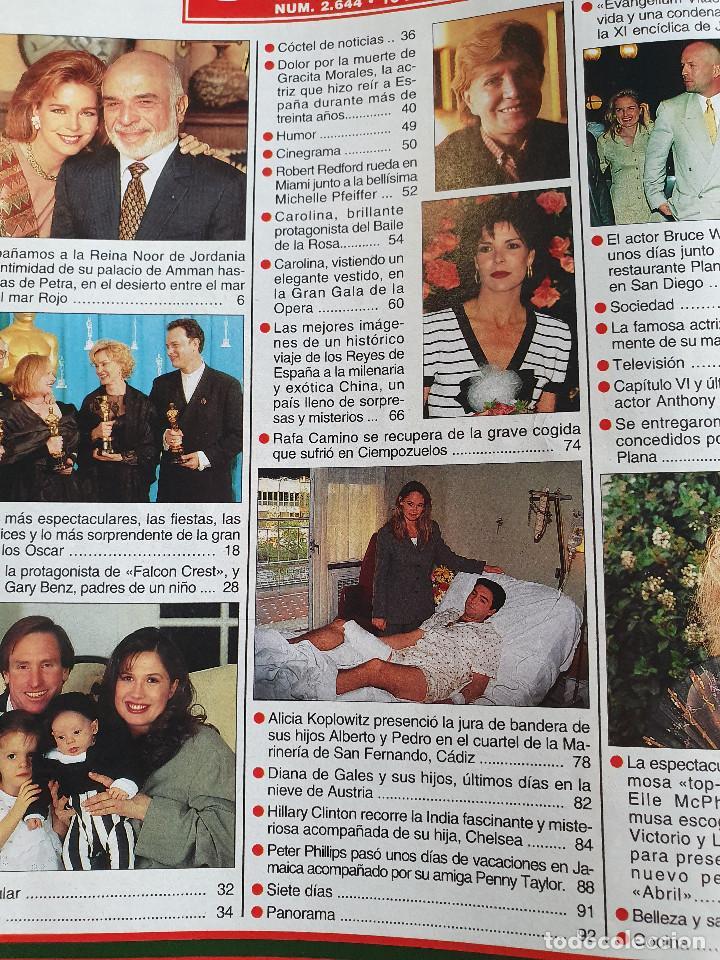Coleccionismo de Revista Hola: HOLA. 13 ABRIL 1995. NUM. 2644. CAROLINA DE MONACO, RAFI CAMINO, VER SUMARIO EN FOTOS - Foto 3 - 169429512
