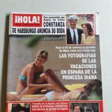Collectionnisme de Magazine Hola: HOLA. 12 MAYO 1994. NUM. 2596. DIANA DE GALES, PELÉ, ERIC ROBERTS, VER SUMARIO EN FOTOS. Lote 169430820