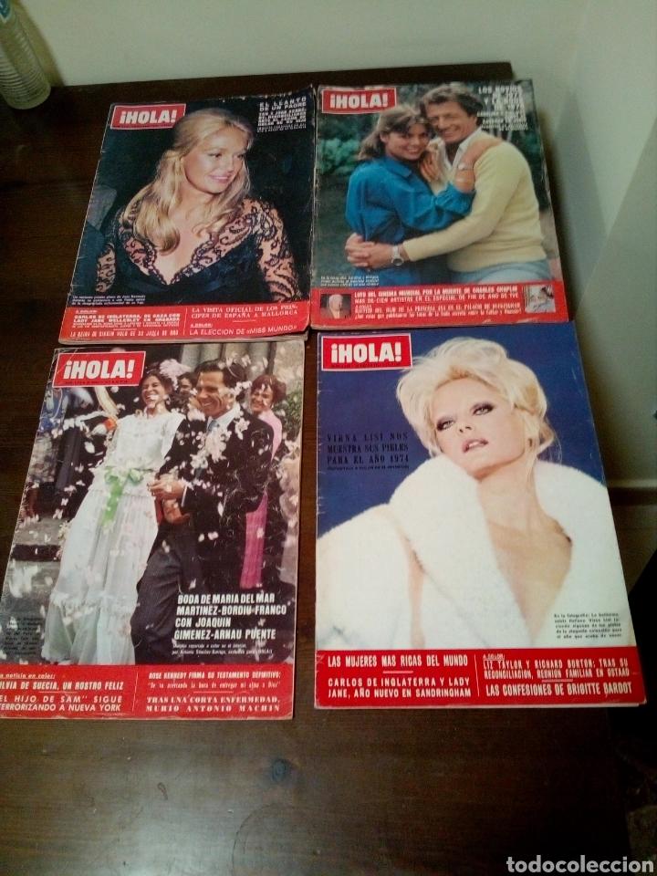 REVISTA HOLA AÑOS 1970 (Coleccionismo - Revistas y Periódicos Modernos (a partir de 1.940) - Revista Hola)
