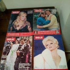 Coleccionismo de Revista Hola: REVISTA HOLA AÑOS 1970. Lote 169556858