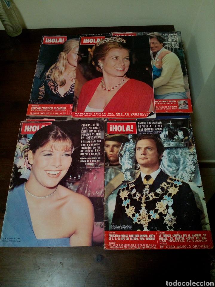 Coleccionismo de Revista Hola: Revista hola años 1970 - Foto 2 - 169556858