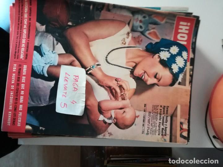 REVISTA HOLA 1049 * 3 OCTUBRE 1964 * CARMEN SEVILLA + JACQUELINE KENNEDY + SORAYA + CHAPLIN * 68 (Coleccionismo - Revistas y Periódicos Modernos (a partir de 1.940) - Revista Hola)