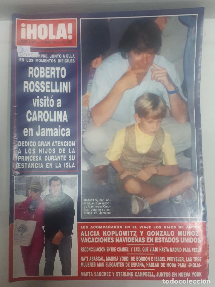 21975 - REVISTA HOLA - Nº 2423 - EN PORTADA ROBERTO ROSELLINI (Coleccionismo - Revistas y Periódicos Modernos (a partir de 1.940) - Revista Hola)