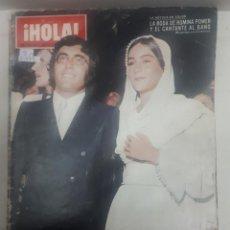 Coleccionismo de Revista Hola: 21979 - REVISTA HOLA - Nº 1354 - EN PORTADA ROMINA POWER Y ALBANO . Lote 169618948