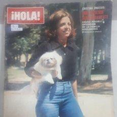 Collectionnisme de Magazine Hola: 21986 - REVISTA HOLA - Nº 1602 - EN PORTADA CRISTINA ONASSIS . Lote 169619088