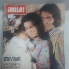 Coleccionismo de Revista Hola: 21992 - REVISTA HOLA - Nº 1511 - EN PORTADA RAPAHEL Y NATALIA . Lote 169619200