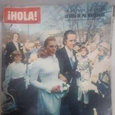 Coleccionismo de Revista Hola: 22018 - REVISTA HOLA - Nº 1395 - EN PORTADA PIA DEGERMARK. Lote 169621160