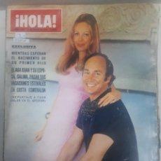 Coleccionismo de Revista Hola: 22030 - REVISTA HOLA - Nº 1357 - EN PORTADA KARIM AGA KHAN Y SALIMA . Lote 169621828