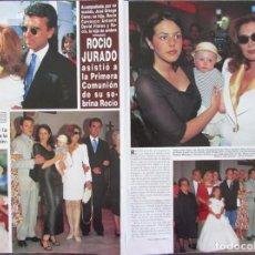 Coleccionismo de Revista Hola: RECORTE REVISTA HOLA Nº 2754 1997 ROCIO JURADO. Lote 169898588