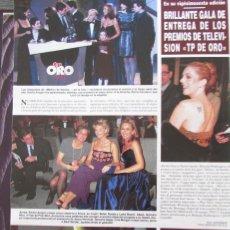 Collectionnisme de Magazine Hola: RECORTE REVISTA HOLA Nº 2790 1998 LYDIA BOSCH, BELEN RUEDA. Lote 169901236