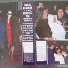 Coleccionismo de Revista Hola: RECORTE REVISTA HOLA Nº 2642 1995 ISABEL PANTOJA. Lote 169902924