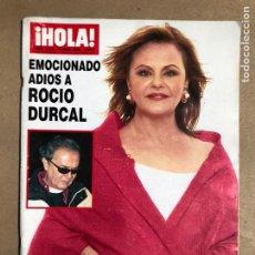 Coleccionismo de Revista Hola: ¡HOLA! N° 3218 (ABRIL 2006). ADIÓS A ROCÍO DÚRCAL, ROCIO JURADO, LA DUQUESA DE ALBA,.... Lote 170068733