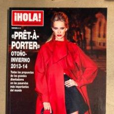 Coleccionismo de Revista Hola: ¡HOLA! NÚMERO ESPECIAL PRÊT À PORTER OTOÑO-INVIERNO 2013-2014. COMO NUEVA.. Lote 170071052