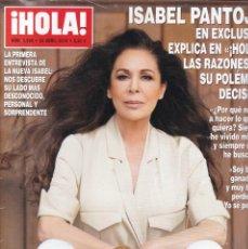 Coleccionismo de Revista Hola: ¡HOLA! - Nº 3.899 / ABRIL 2019. Lote 170160244