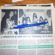 Collezionismo di Rivista Hola: RECORTE : REPRESENTANTE DE PUERTO RICO, MAJA INTERNACIONAL 1977. HOLA, OCTBRE 1977 (). Lote 170258400