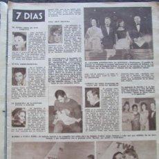 Coleccionismo de Revista Hola: RECORTE REVISTA HOLA Nº 961 1963 MARISOL, ANTONIO EL BAILARIN, MERIEM MEZIAN. Lote 170283180