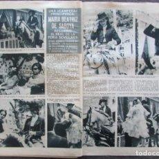 Coleccionismo de Revista Hola: RECORTE REVISTA HOLA Nº 1132 1966 MARIA BEATRIZ DE SABOYA. Lote 170286216