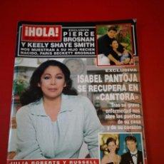 Coleccionismo de Revista Hola: REVISTA HOLA NÚMERO 2956 AÑO 2001 ISABEL PANTOJA . Lote 170865790