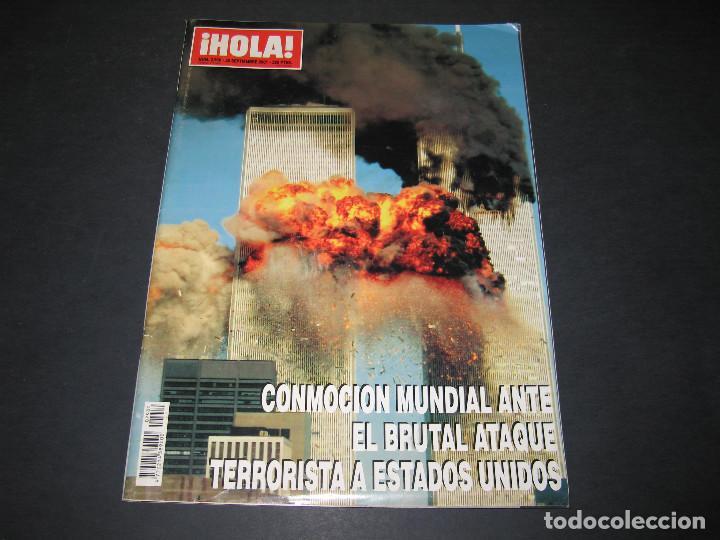 HOLA - NÚM. 2980 - 20 SEPTIEMBRE 2001 - ATAQUE TERRORISTA A EE.UU. - TORRES GEMELAS - 138 PÁG. (Coleccionismo - Revistas y Periódicos Modernos (a partir de 1.940) - Revista Hola)