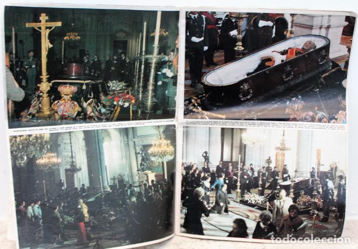 Coleccionismo de Revista Hola: Revista hola, número extraordinario homenaje póstumo a Franco y proclamación del Rey Juan Carlos - Foto 2 - 171136802