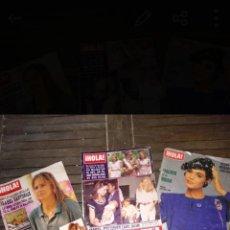 Coleccionismo de Revista Hola: LOTE 3 REVISTAS HOLA. Lote 171513767