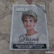 Coleccionismo de Revista Hola: ¡HOLA! NUMERO ESPECIAL DIANA INOLVIDABLE,UN EXCEPCIONAL ALBUMCON LAS MEJORES FOTOGRAFIAS. Lote 172060092
