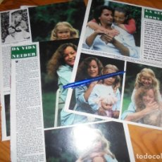 Coleccionismo de Revista Hola: RECORTE : LA SEGUNDA VIDA DE ROMY SCHNEIDER . HOLA, DCMBRE 1981 (). Lote 172138753