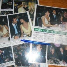 Collectionnisme de Magazine Hola: RECORTE : JULIO IGLESIAS Y GIANINA FACCIO, SALEN A DIVERTIRSE. HOLA, MARZO 1982 (). Lote 172268470