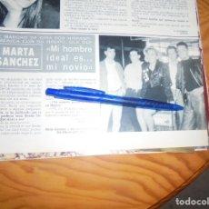 Collezionismo di Rivista Hola: RECORTE : MARTA SANCHEZ Y SU GRUPO OLE-OLE, DE GIRA HISPANOAMERICANA. HOLA, OCTBRE 1988 (). Lote 172358882