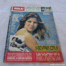Coleccionismo de Revista Hola: HOLA Nº 1976-LADY DI/CARLOS NACIMIENTO SU HIJO GILLERMO - CAROLINA DE MONACO-LUCIA BOSE-RESUMEN 1982. Lote 172607834