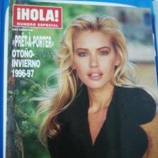 Coleccionismo de Revista Hola: HOLA PRET-A-PORTER 1996 VALERIA MAZZA JUDIT MASCÓ VICTORIA SILVSTEDT KATE MOSS REVISTA MODA. Lote 172657667